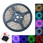 JIAWEN Waterproof 500CM 35W 300-5050SMD LED Light Strip RGB 2400lm w/ Music LED Controller (DC12V)
