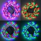 JIAWEN Waterproof 5m 35W RGB 300-LED Light Strip w/ Music Controller
