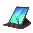 360' Rotation Case w/ Stand for Samsung Galaxy Tab S2 9.7 - Brown