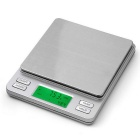 "Prointxp PTPT3-2000 1.96"" LCD Pocket Digital Scale w/ Dual Units Display (2000g / 0.1g / 2 x AAA)"