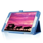 360' Rotation Smart Case w/ Stand for Samsung Tab S2 8.0 - Blue