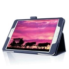 360' Rotation Smart Case w/ Stand for Samsung Tab S2 8.0 - Dark Blue
