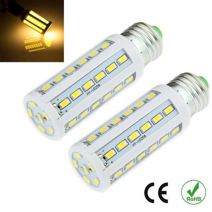 E27 8W LED Corn Light Warm White 1000lm 42-SMD 5630 (2PCS)