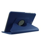 360' Rotation Case w/ Stand for Samsung Galaxy Tab S2 9.7 - Dark Blue