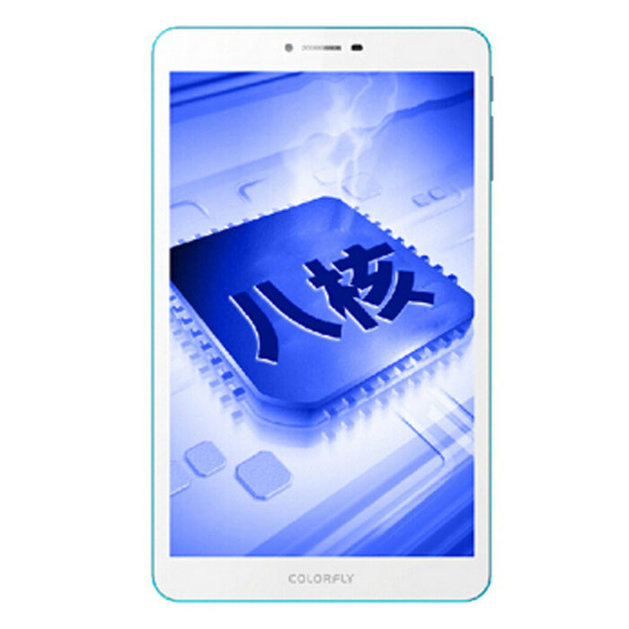 "Colorfly G808 3G 8"" tablet PC com 1GB RAM / 16GB ROM - branco (nós plug)"