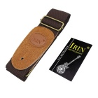IRIN Adjustable Polyester Guitar Shoulder Strap - Brown