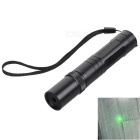 5mW Single Dot Green 532nm Laser Pen w/ Strap - Black (1 x 16340)