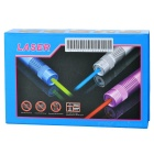 5mW Verde 532nm Laser Pen w / Adaptadores + US Plugss Power Adapter - Preto
