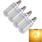 YouOKLight E14 15W 56-SMD 5730 1480lm 3000K Warm White Light LED Mais-Birnen-Lampen (AC 110 V / 4 PCS)