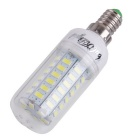 Youoklight E14 15W 56-SMD 3000K luz branca morna bulbo do milho do diodo emissor de luz (4PCS)