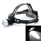 Marsing Outdoor 12W XML-T6 LED 1000lm 3-Mode White Light Headlamp - Camouflage (2 x 18650)