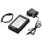 12.6V 4000mAh Rechargeable 12400 Li-ion Battery w/ Switch - Black