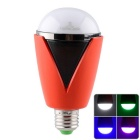 LightsCastle H-1007 iOS Android App Controlled RGB LED Lamp w/ Bluetooth V4.0 Music Speaker - Red