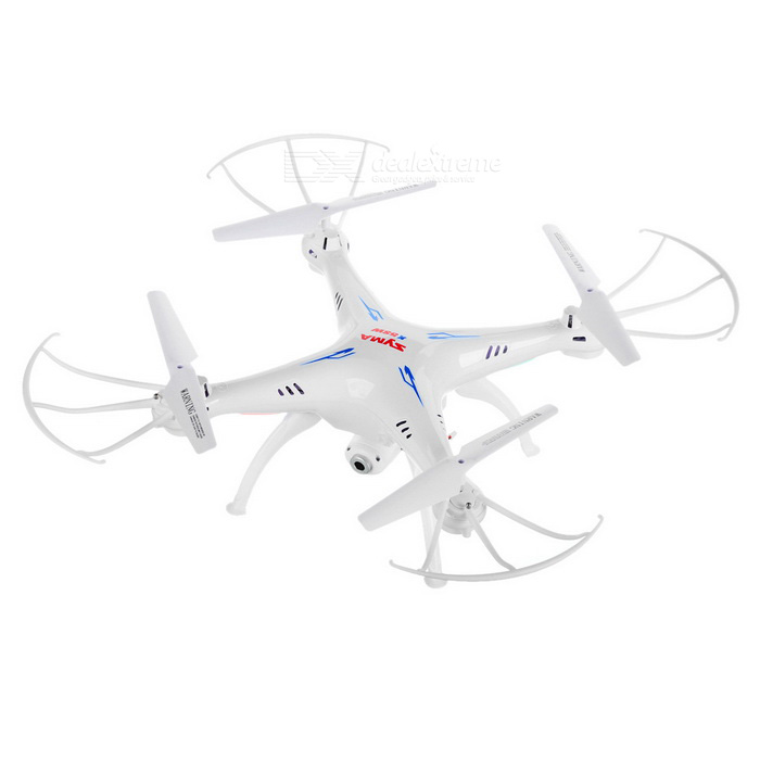 SYMA X5SW 2.4GHz 4-CH R/C Quadcopter w/ Gyro & More Kit- White