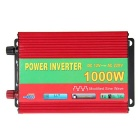 1000W Car Vehicle DC 12V to AC 220V Power Inverter Converter w/ USB Port / Dual Universal Sockets