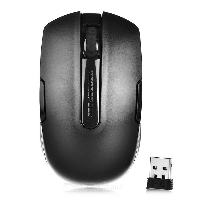 Motospeed G12 2.4G Wireless Mouse for Laptop / PC - Black (1*AA)