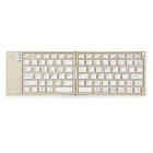 MOTOSPEED BK40 Ultra-thin Flodable Bluetooth V3.0 Keyboard for MAC IOS Android PC Windows - Gold