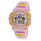Genuine Skechers STTSR-004 Women's Rubber Band Watch 30M Water-Resistant - Yellow + Pink