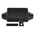 Solar Powered Waterproof Anti-Theft Car Vehicle GPS Tracker - Black