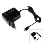 Portable EU Plug / USB 1.75A Power Charger for ASUS X205T - Black