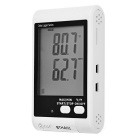 "BSIDE BTHA01 3.4"" LCD Temperature & Humidity Meter Data Logger"