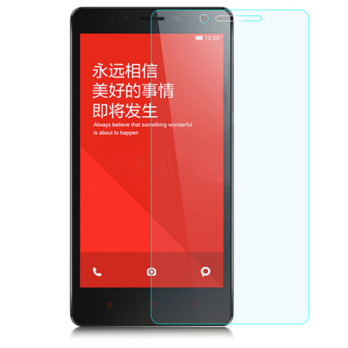 ASLING 0.26mm Tempered Glass Film for Redmi Note - Transparent