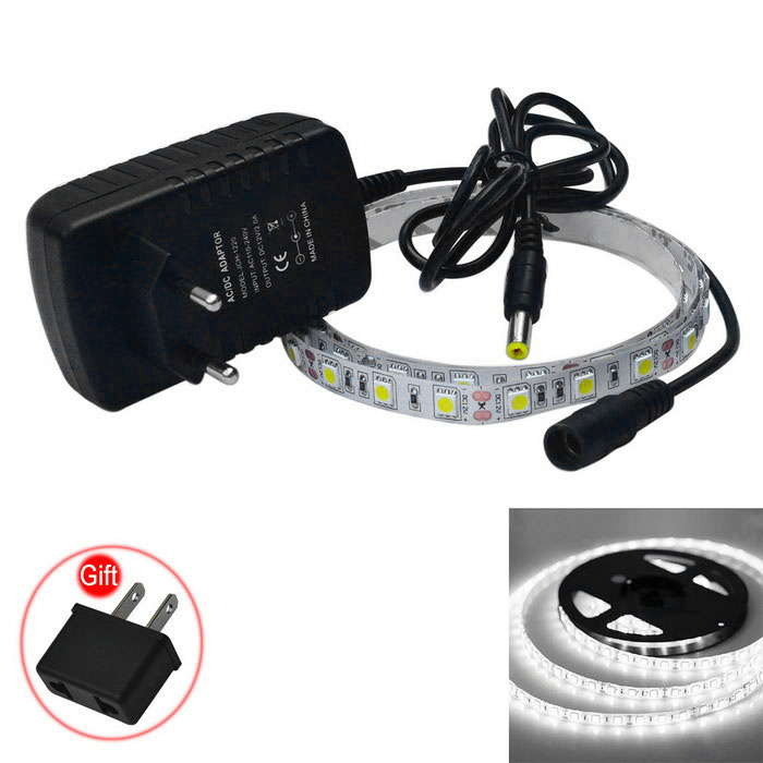 JIAWEN 15W LED Strip Lamp Cold White 200lm 60-5050 SMD (100-240V / 1m)
