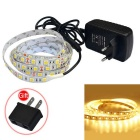 JIAWEN 32W LED Strip Lamp Warm White 3200K 1800lm 150-5050SMD (DC 12V / 2.5M)