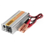 1500W Car Vehicle DC 12V to AC 110V Power Inverter Adapter Converter w/ USB Port - Silver