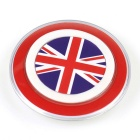 British Flag Pattern QI Standard Wireless Charger for Smartphones - Red