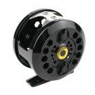 Stainless Steel Vessel Fishing Reel Gear - Black + Silver