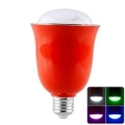 LightsCastle H-1002 iOS / Android App Controlled RGB LED Lamp w/ Bluetooth V4.0 Music Speaker - Red
