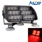 MZ 30W Universal-18-LED-Auto-Blinkende Warnleuchte rotes Licht 660nm 900lm (12V)