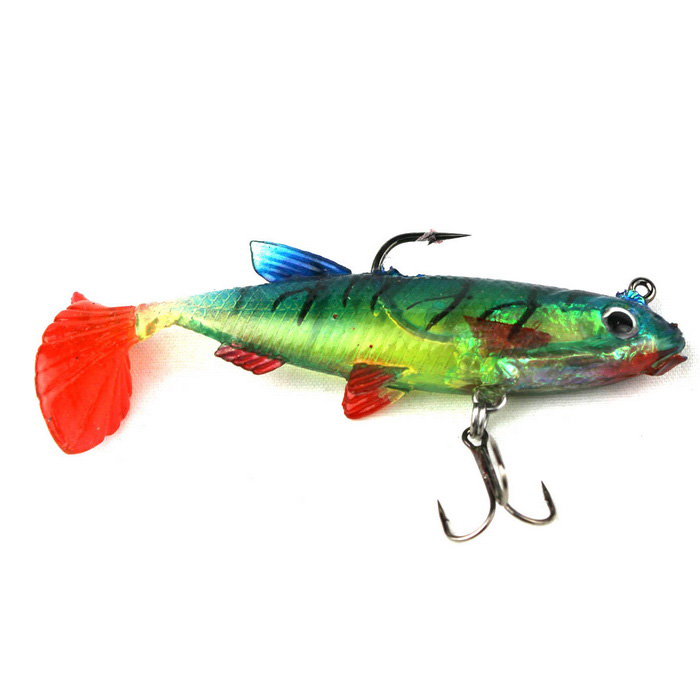 Fishing Silicone Soft Bait w/ Barb Hook - Red + Green + MulticolorFishing Baits<br>Form ColorRed + Green + MulticolorQuantity1 DX.PCM.Model.AttributeModel.UnitMaterialSiliconeFishing Site River,Pool,Sea,Surf Fishing,Sea Boat Fishing,Rock Fishing,Reservoir,Stream,PondFishing Line Typen/aFishing Line Capacityn/aCable Length0 DX.PCM.Model.AttributeModel.UnitLine Diameter0 DX.PCM.Model.AttributeModel.UnitPacking List1 x Bait<br>