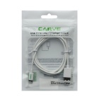 CARVE 8Pin Lightning to USB 2.0 Cable for IPHONE 6 - White (1m, 3PCS)