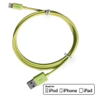 CARVE 8Pin Lightning to USB 2.0 Data Sync / Charging Cable for IPHONE 6 / IPAD - Yellow (1m)