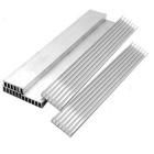 Aluminum Radiators Power Module Heat Sinks - Silver (150 x 20 x 6mm / 5 PCS)