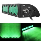 Wasserdichte Wired 60W 6-XML LED Arbeits Bar / Scheinwerfer / Foglight Flood Green Light 5100lm (9 ~ 60V)
