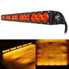Wasserdichte Wired 150W 15-XML LED Arbeits Bar / Foglight Flood orange Licht 12750lm (9 ~ 60V)