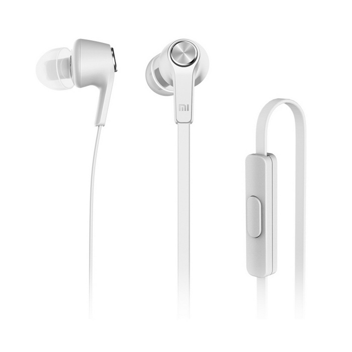 Xiaomi 3.5mm In-Ear Earphones w/ Mic for Xiaomi, IPHONE, IPAD - White