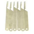 Transparent Practice Lock Picks Tools Set w/ 1 Key