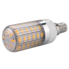 E14 11W 56-5730 SMD 920lm 3000K Warmweiß Stripy Shaded-Licht LED-Mais-Birne (AC 100-140V)