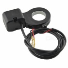 Motorcycle Electric Car Tricycle Headlight Stall Switch - Black + Red