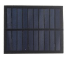 1W Laminated Polysilicon Solar Panel - Black
