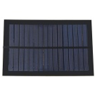 1.2W Polysilicon Solar Panel - Black
