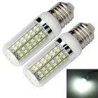 E27 18W LED Corn Bulb Lamp Cold White Light 1600lm 80-SMD 2835