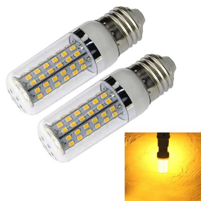 E27 18W LED Corn Bulb Lamp Warm White Light 1600lm 80-SMD 2835(2PCS)