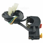 CARKING Motorcycle Extinction Switch for Horn, Headlight - Black + Red