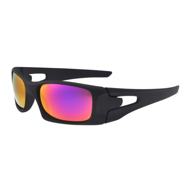 UV400 Protection PC Sports Cycling Driving Sunglasses - Black
