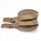 Skating Knee & Elbow Safety Support Protector Pads Set - Khaki